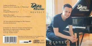Вышел сольный диск пианиста Диаса Каримова