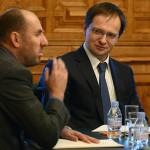 Владимир Кехман и Владимир Мединский. Фото - Руслан Шамуков/ ТАСС