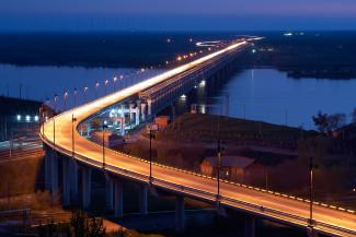 Хабаровский. Мост через Амур