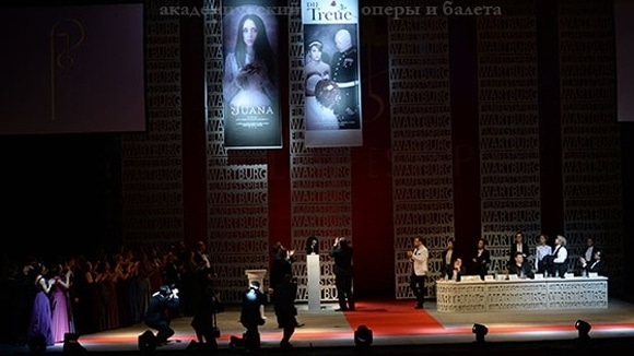 """""""Тангейзер"""" в Новосибирском театре оперы и балета"""