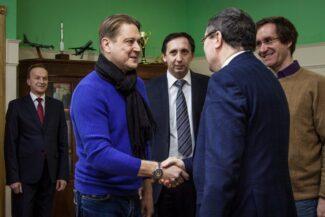 Глава администрации Тамбовской области Олег Бетин встретился с Николаем Луганским и  Александром Сладковским