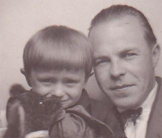 Владимир Глаголев с сыном