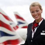 Стюардесса авиакомпании British Airways