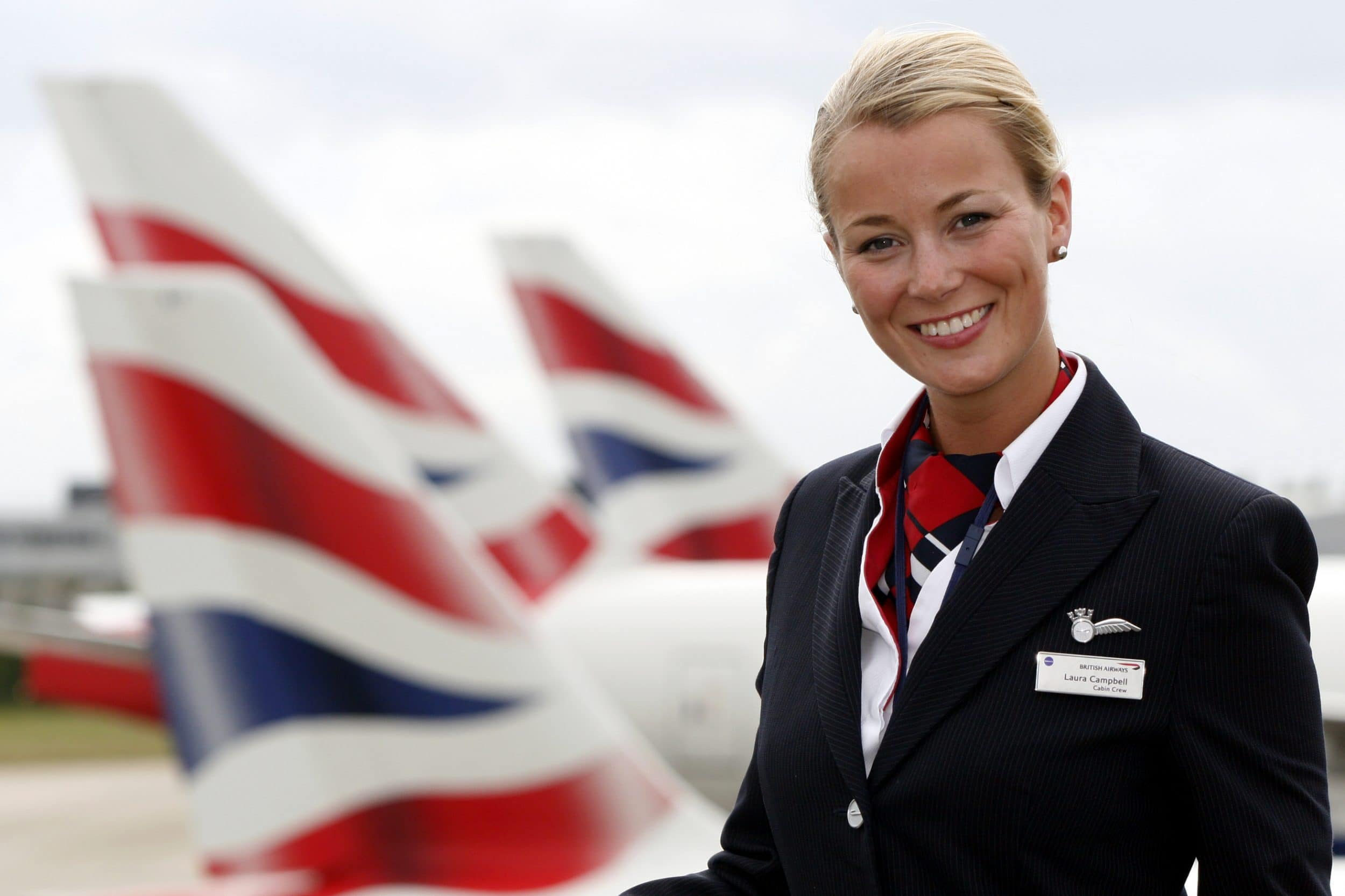 Стюардесса авиакомпании British Airways