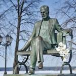 Памятник П. И. Чайковскому в Воткинске
