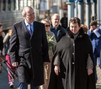 Валерий Гергиев и губернатор Владимирской области Светлана Орлова. Фото - Владимир Чучадеев