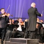 Концерт симфонического оркестра Московской филармонии прошел в Сарове
