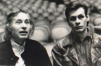 Альфред и Андрей Шнитке. Фото из архива Ирины Шнитке