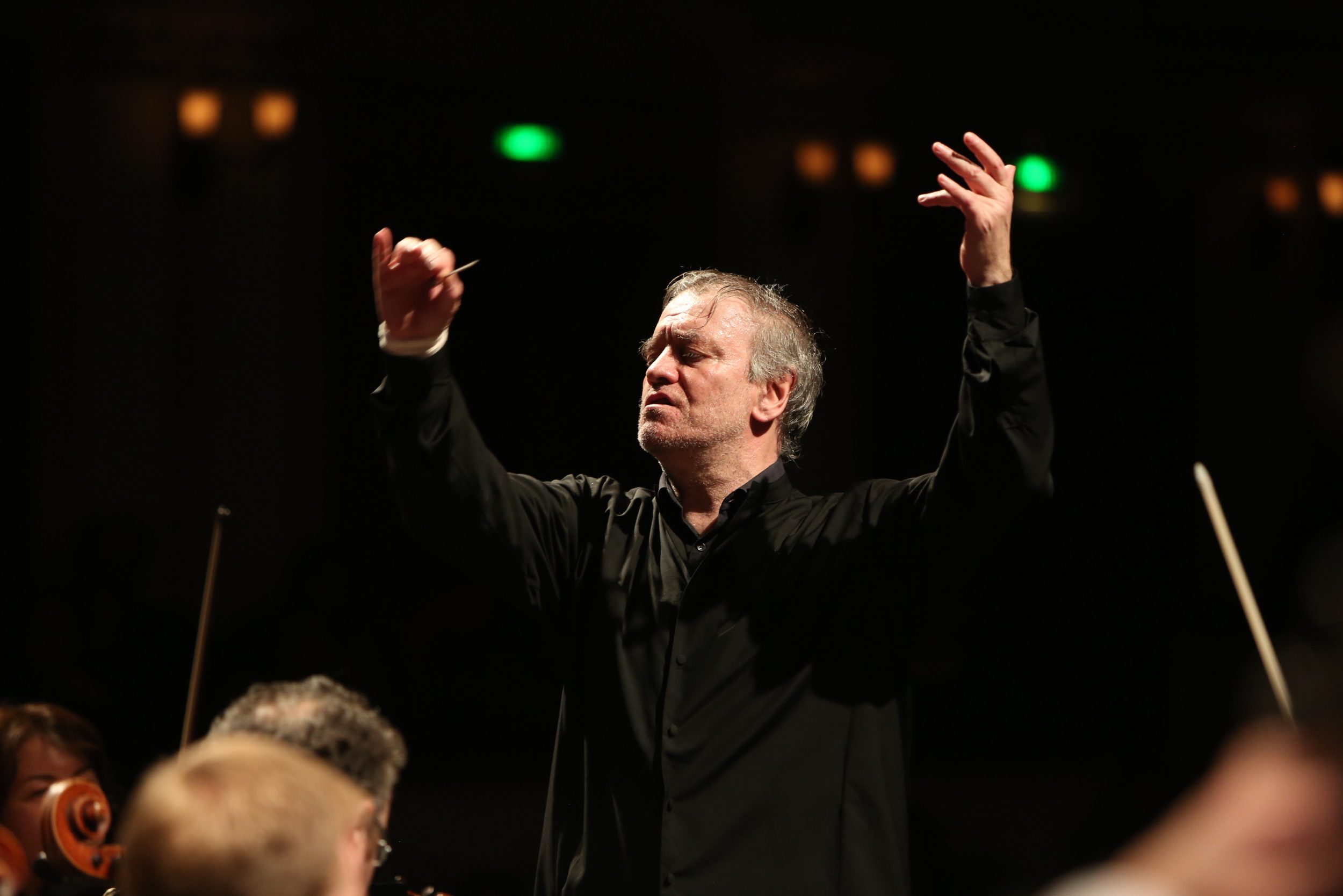 Валерий Гергиев на концерте в Перми