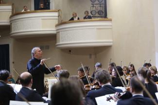 Валерий Гергиев на концерте в Воткинске