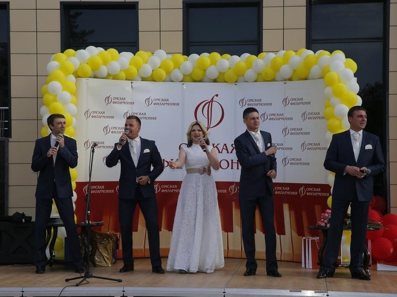 75-летний юбилей Омская филармония отметила большим концертом