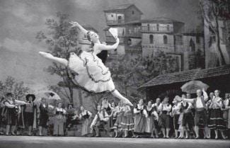Майа Плисецкая (Китри) в балете «Дон Кихот»