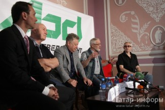 Пресс-конференция, посвященная открытию Нуриевского фестиваля