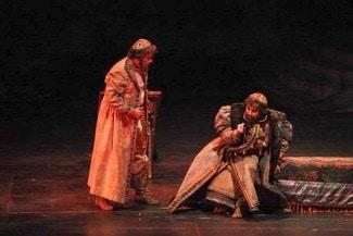 Сцена из оперы «Борис Годунов»