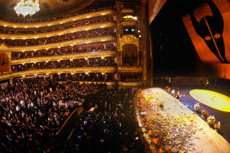 Творческий вечер Майи Плисецкой в Большом театре, 1985 год. Фото - Александр Макаров