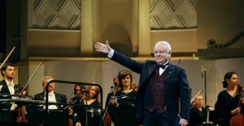 Юрий Симонов и оркестр Московской филармонии
