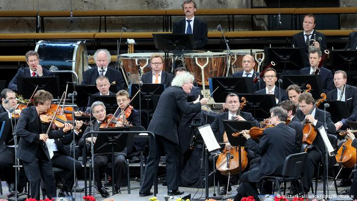 Берлинский филармонический оркестр c главным дирижером Саймоном Рэттлом