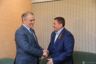 Валерий Гергиев и Андрей Бочаров