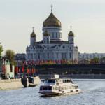 Концерт Чайковского прошел у храма Христа Спасителя
