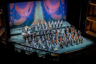 Венский филармонический оркестр и Риккардо Мути в Кремле. Фото - Дарья Зарина