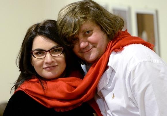 Хибла Герзмава и Феликс Коробов. Фото: ИЗВЕСТИЯ/Владимир Суворов
