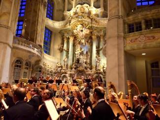 Оркестр Санта-Чечилия во Фрауэнкирхе.