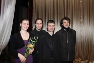 Александра Климова, Антон Пушкин, Владимир Орлов, Василий Игонин