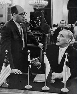 Мстислав Ростропович и Григорий Пятигорский, 1962 год