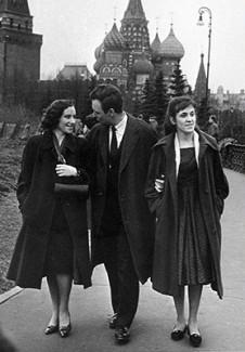 Наталья Шаховская, Лесли Парнас и Наталья Гутман, 1962 год