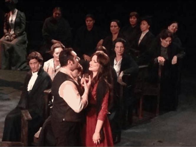 Оксана Волкова на сцене La Scala. Фото из личного архива певицы