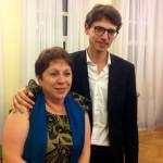Рена Шерешевская и Люка Дебарг. Фото - Елена Чишковская