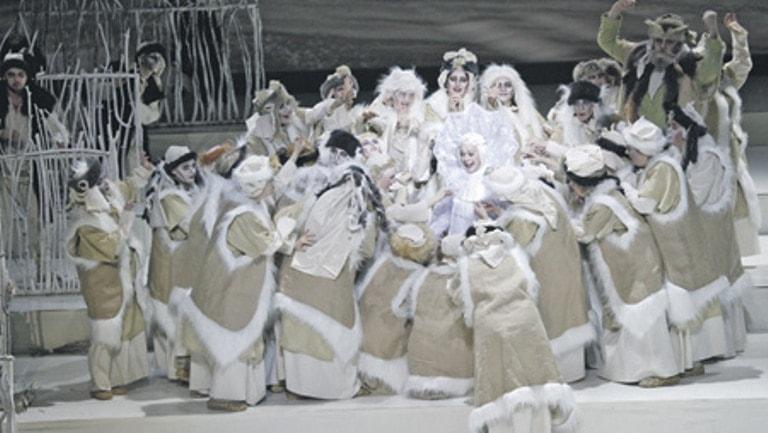 Снегурочка в Берендеевом царстве. Фото предоставлено пресс-службой театра