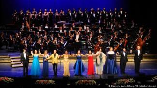 Участники оперного гала-вечера в Бонне