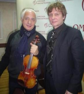 Владимир Спиваков и Алан Карбонар. Фото из личного архива А. Карбонара