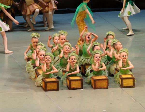 Учащиеся балетной школы Fouette представили отчетный концерт за год