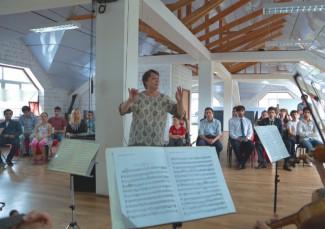 Камерный оркестр Дагестанской филармонии выступил в Центре современного искусства