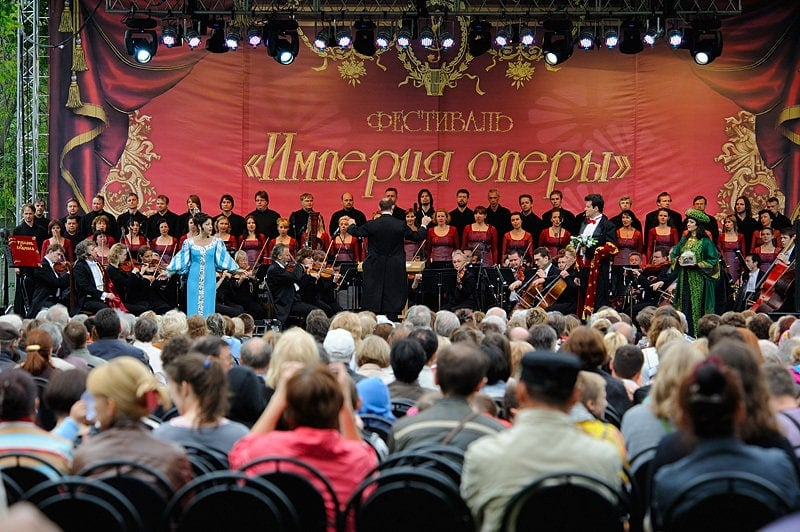 """На Измайловском острове прошел фестиваль """"Империя оперы"""""""