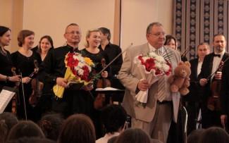 Сказку «Петя и волк» исполнили Михаил Колков и Губернаторский симфонический оркестр