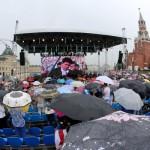 Денис Мацуев выступил на открытии книжного фестиваля на Красной площади
