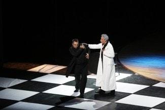 Мазепа (Дмитрий Неласов) и казак Андрей (Виктор Луцюк). Фото: РИА PrimaMedia