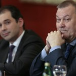 Туган Сохиев и Владимир Урин