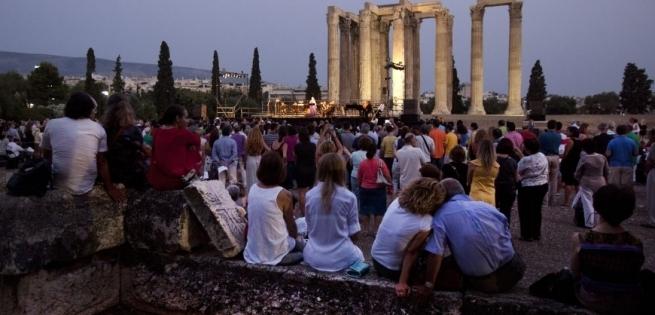 Бесплатная опера в храме Зевса Олимпийского