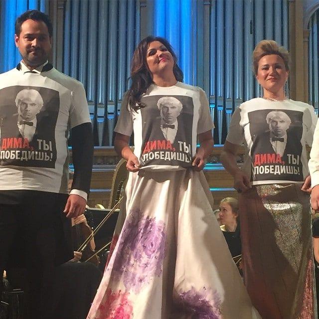 Артисты поддержали Дмитрия Хворостовского