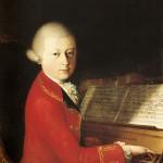 Портрет 13-летнего Моцарта, написанный в 1770 г.