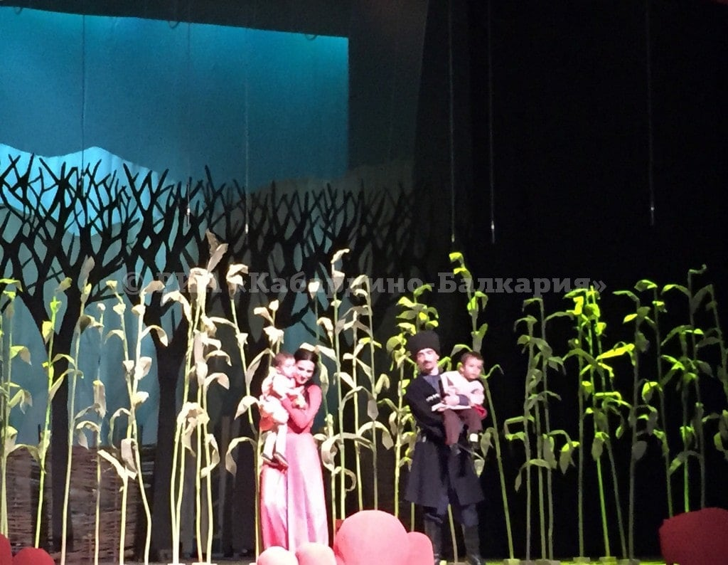 В Государственном музыкальном театре КБР состоялась премьера оперы Мухадина Балова и Хасана Карданова