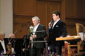 Валерий Гергиев и Денис Мацуев на открытии конкурса