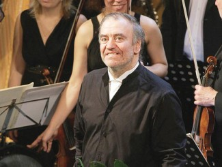 Валерий Гергиев. Фото - Владимир Ларионов