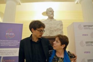 Люка Дебарг и Рена Шерешевская. Фото - Ирина Шымчак