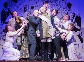 «Мелкий бес», Камерный театр имени Покровского. Фото: пресс-служба театра