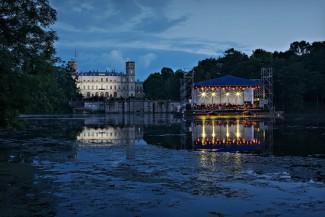 В Дворцовом парке Гатчинского музея-заповедника в шестой раз состоялся фестиваль «Ночь музыки в Гатчине»